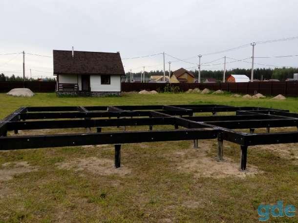 Свайный Фундамент под дом и баню в Шклове и рн, фотография 2