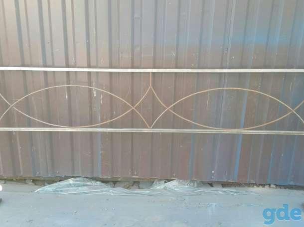 Ограда металлическая ритуальная, фотография 7