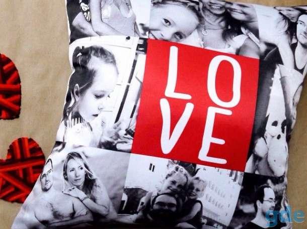 Подушка с фотопечатью, фотография 4