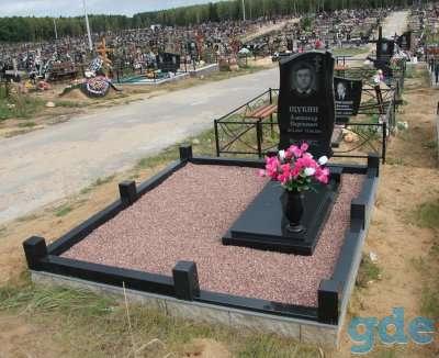 Благоустройства мест захоронения, фотография 2