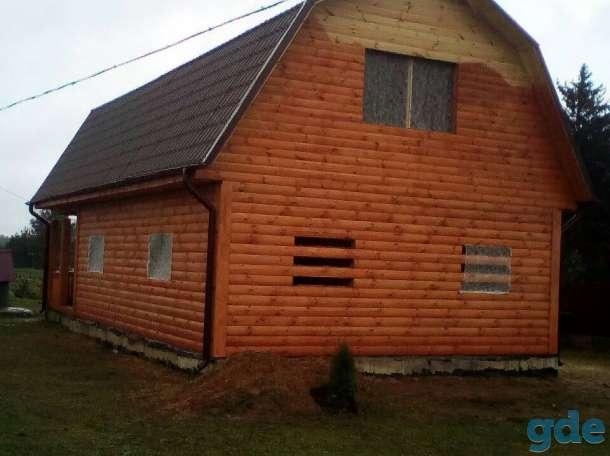 Дома сруб из бруса  9х7 с установкой в Слуцке, фотография 5