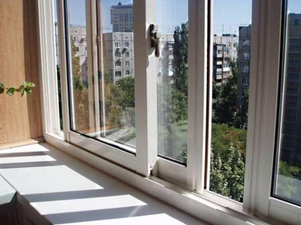 Балконные рамы раздвижные алюминиевые и ПВХ заводской сборки под ключ, фотография 1
