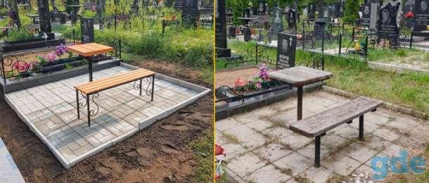Благоустойство могил и установка памятников под ключ Новополоцк и рн, фотография 3