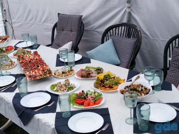 Обслуживание (повар, официант) на корпоратив, банкет, свадьбу, фотография 4