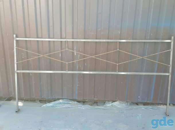 Ограда ритуальная металическая, фотография 6