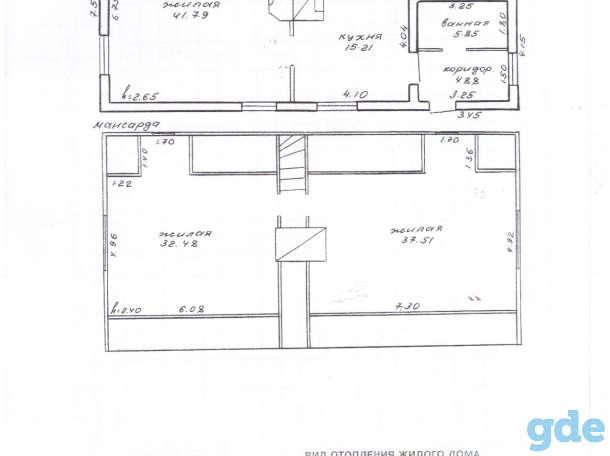 Продается 2-хэтажный  кирпичный дом в д. Голынке по ул. Дачной, фотография 5