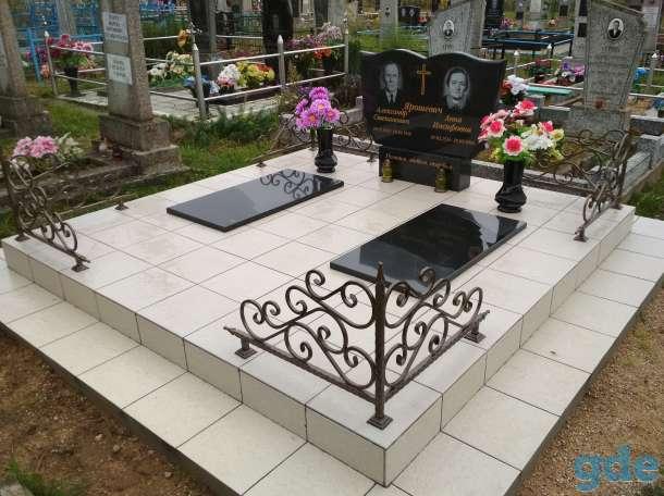 Благоустройства мест захоронения  Памятники, фотография 9