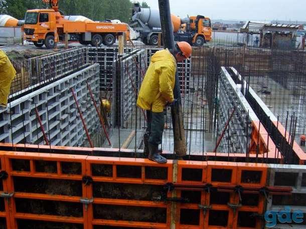 Монолитчики-бетонщики на строительство ангаров/очистных сооружений, фотография 1