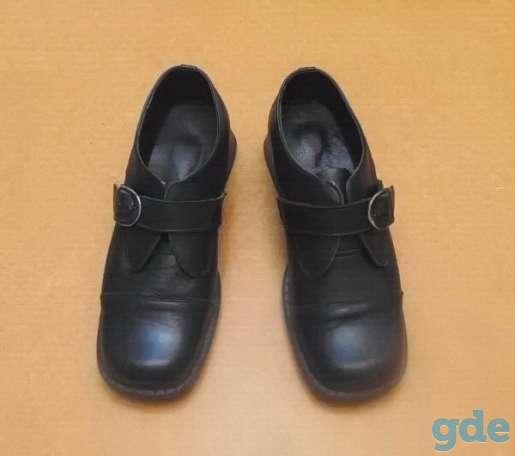 Женские туфли из натуральной кoжи (на застёжке). Р-р 36, фотография 1