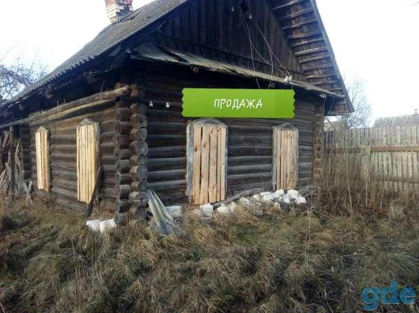 Продается ветхий дом 36 кв.м общей площадью с земельным участком 15 соток в агрогородке Красное Осип. р-на, фотография 1