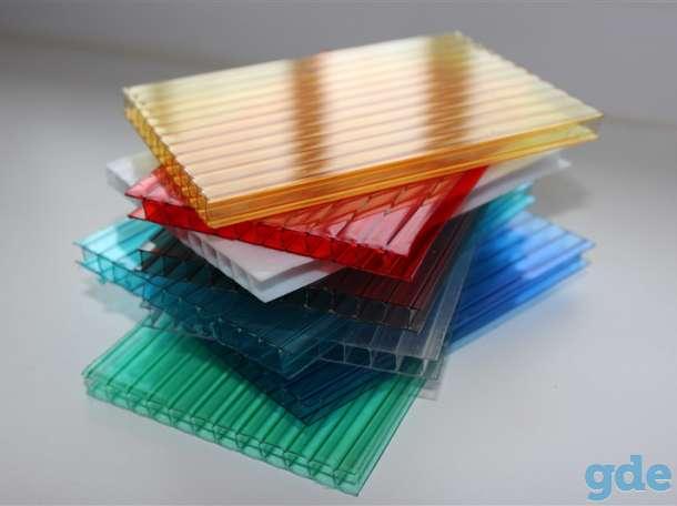 Поликарбонат сотовый 2.5; 3; 3.5; 4; 6; 8; 10 мм. Прозрачный и цветной!, фотография 4