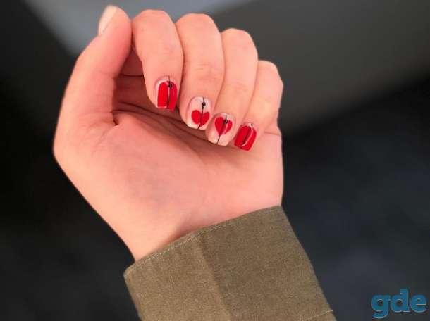 Коррекция ногтей гель лак, фотография 6