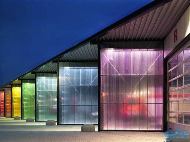 Сотовый поликарбонат 3мм,4мм,6мм,8мм,10мм Прозрачный и цветной. Доставка по РБ!), фотография 2