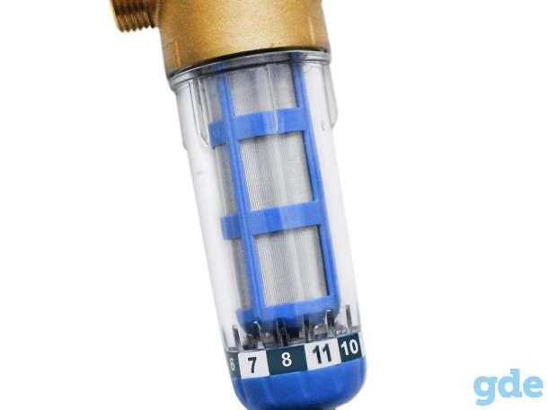 Магистральный фильтр промывного типа серии WF-PREFILTR (ручная промывка), фотография 1