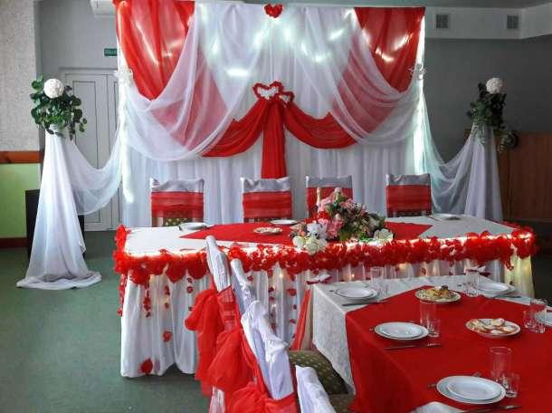 оформление свадебного зала в Кировске, фотография 4
