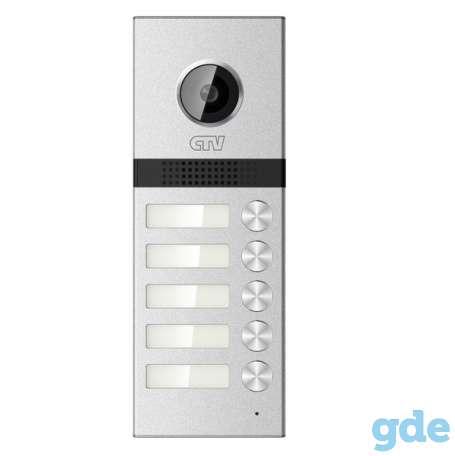 Вызывные панели для видеодомофона CTV-D Multi на 2-5 абонентов, фотография 5