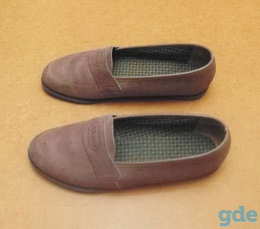 Женские туфли из замши. Р-р 36 (бежевые), фотография 2