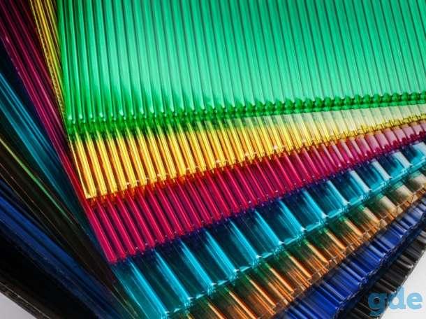 Сотовый поликарбонат для Теплиц, Навесов и козырьков. 4,6,8,10 мм. 2-ая УФ защита. Гарантия. Все цвета. Доставка по РБ., фотография 4