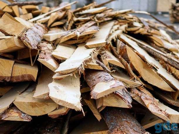 Продам дрова чурки (колотые), фотография 1