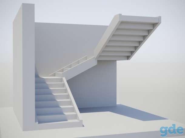 Бетонные лестницы, фотография 12