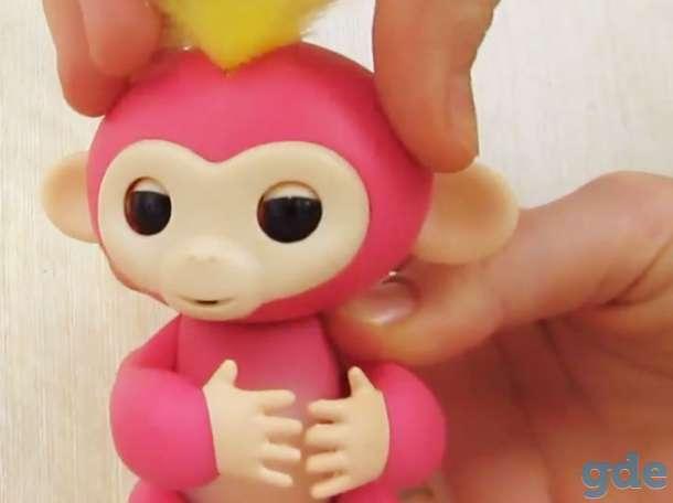 Интерактивная обезьянка Fingerlings новая, в упаковке, фотография 3