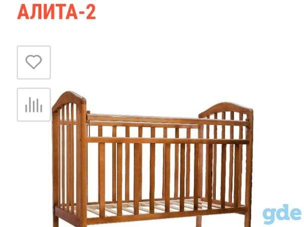 Продам кроватку бу, фотография 1