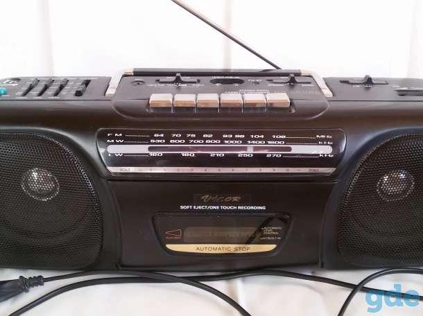 Магнитофон однокассетный VIGOR, б/у, фотография 2