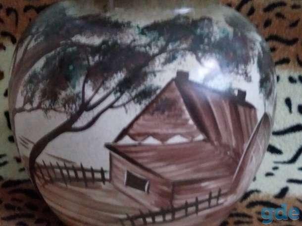 Горшок-ваза напольная, фотография 1