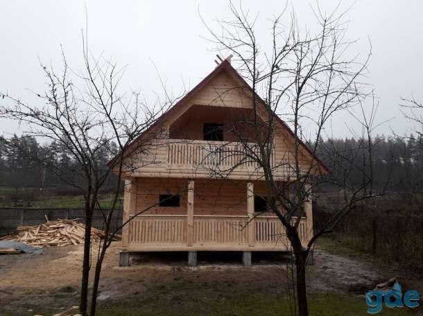 Дом с баней из профбруса проект Юля 6х4м построим в Вилейке и районе, фотография 3