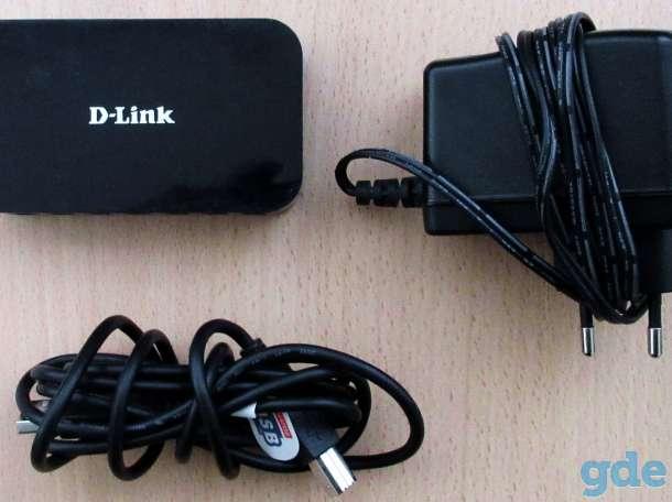 USB-концентратор D-Link DUB-H7, фотография 4