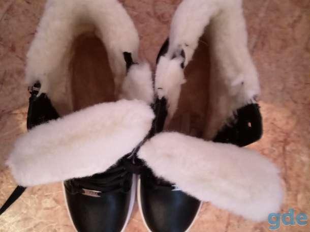 Стильные, современные и тёплые ботинки, фотография 4