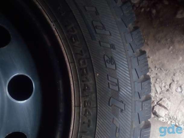 Шины (колеса) зимние с дисками, фотография 1