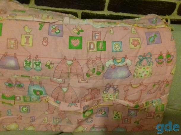 Комплект бортиков в детскую кроватку, фотография 1