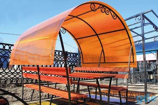 Сотовый поликарбонат 3мм,4мм,6мм,8мм,10мм Прозрачный и цветной. Доставка по РБ!), фотография 7