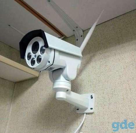 Управляемая 4G камера. 5-кратный зум. Управление. Интернет, фотография 1