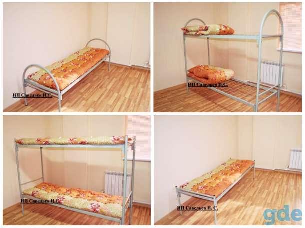 кровати металлические, фотография 1