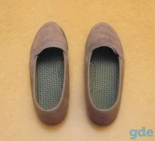 Женские туфли из замши. Р-р 36 (бежевые), фотография 4