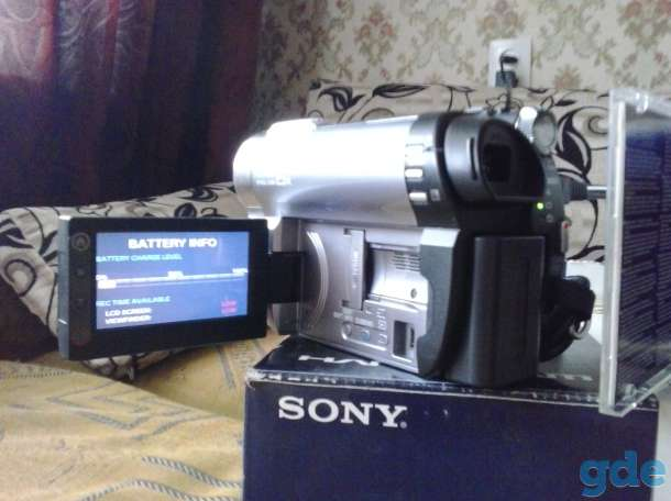 Видео камера SONY, фотография 1