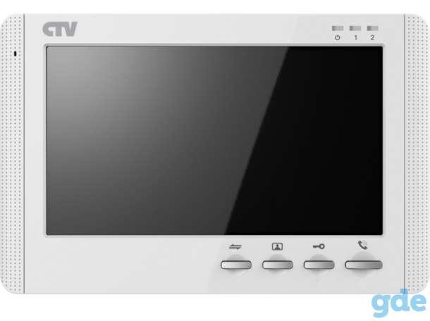 Видеодомофоны CTV: мониторы, вызывные панели, комплекты, фотография 8