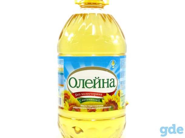 Продам масло подсолнечное очищенное, фотография 1