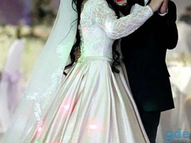 Продам свадебное шикарное платье, фотография 8