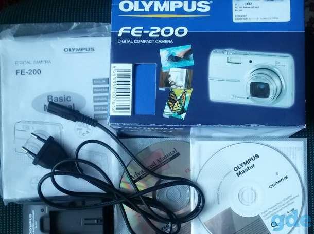 Цифровая фотокамера OLYMPUS FE-200, б.у как новая, фотография 4