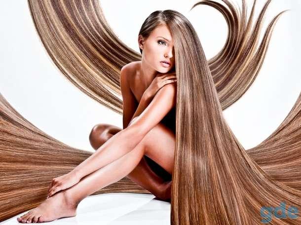 Наращивание волос, кератин, ботокс., фотография 1