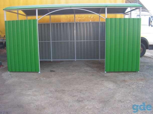 Площадка (навес) для мусорных контейнеров, фотография 5