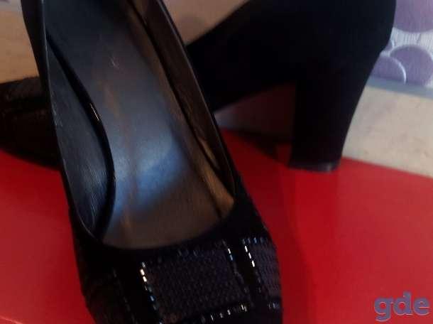 Туфли замш.р.39 продам, фотография 1