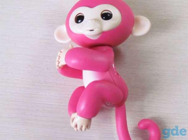 Ручная обезьянка Fingerlings новая, в упаковке, фотография 9