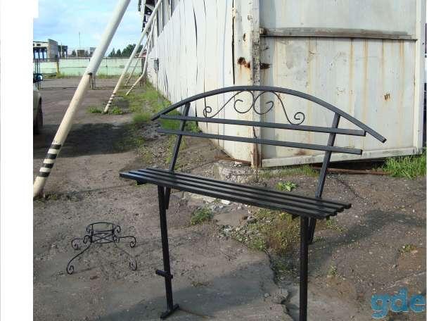 Ограды, кресты,скамейки, фотография 2