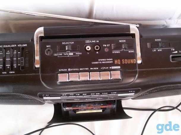 Магнитофон однокассетный VIGOR, б/у, фотография 3