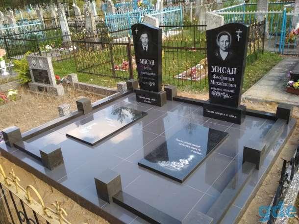 Благоустройства мест захоронения  Памятники, фотография 7