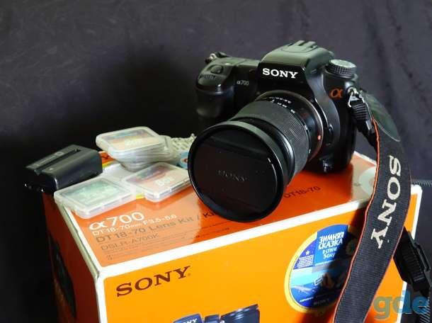 фотоаппарат SONY DSRL-A700K, фотография 1